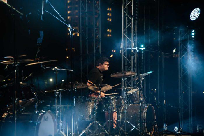 Drummer for Vidya Vox in DLive Cocnert