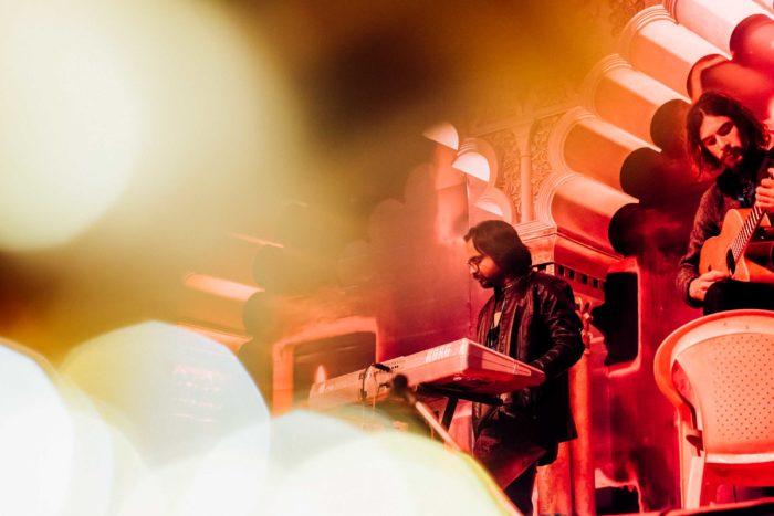 Guitarist at Live Concert at Pushkar Mela